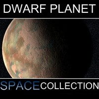 3d model dwarf planet sedna