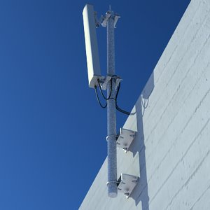3ds max cellular sector antenna