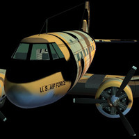 ww2 c47 dakota pzc47 3d model