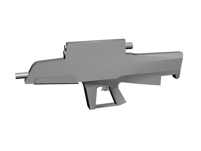 3d model xm25 individual airburst weapon