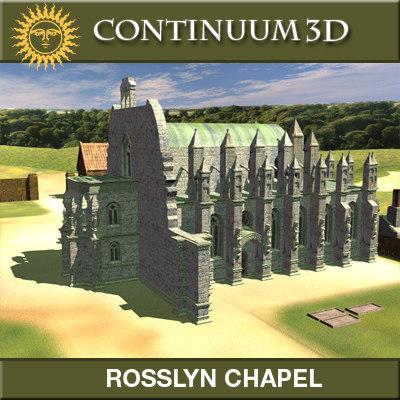 3d rosslyn chapel