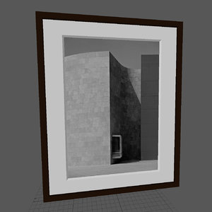 3d model frames photographs photos