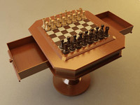 chess set table max