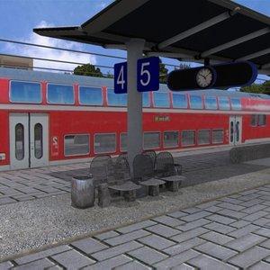 station railroad 3d 3ds