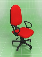 3ds max simple office chair