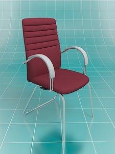 nova chair client 3d model