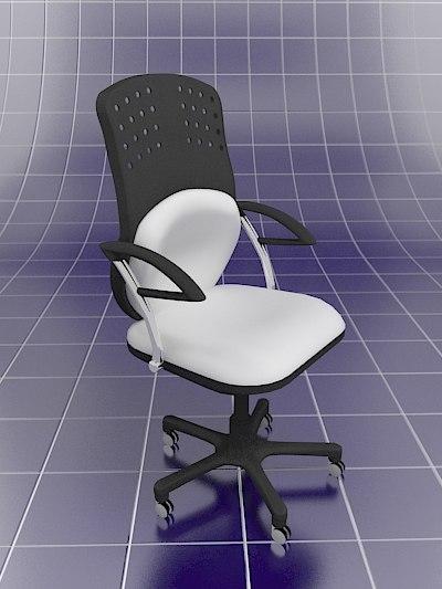 3d chair operacionist model