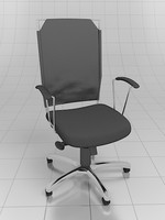 favorit chair operationist 3d model