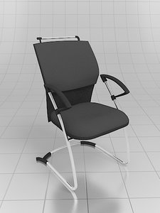 favorit chair client 3d model