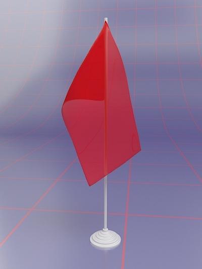 3d advertising flag