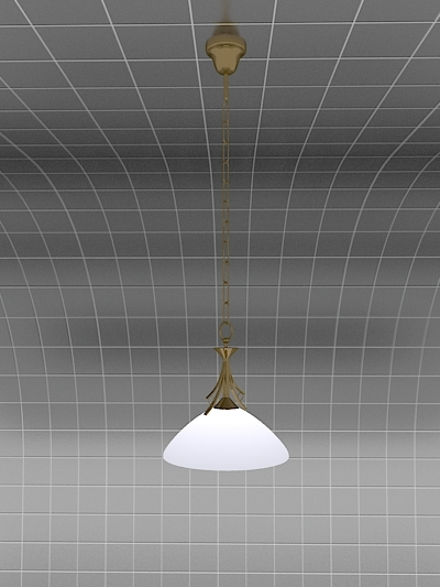 3dsmax belis chandelier