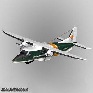 dornier 228 coast guard 3d model