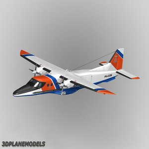 3d fairchild dornier 228 dutch