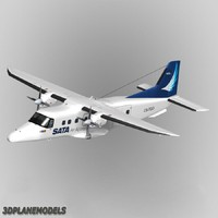 3d 3ds fairchild dornier 228 sata