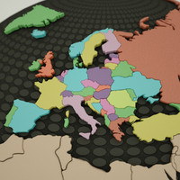 Ultimate 3D Europe Map