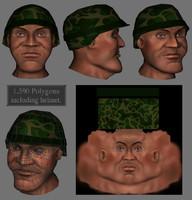 3d general head
