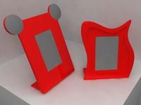 lcd frame counter 3d model