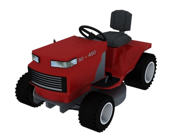 maya lawnmower