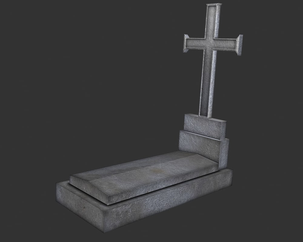 3ds grave stone