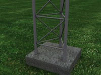 max rohn 55g radio tower