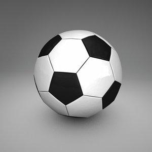 3d c4d soccer ball
