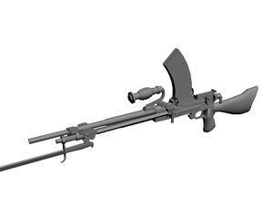 type 96 light machine gun 3ds