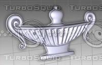 3d - vase 1 model