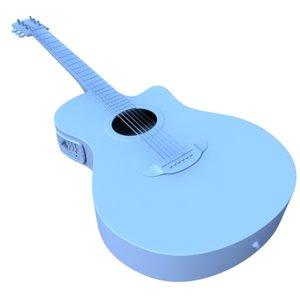 3d model acoustic guitar apx 500