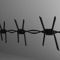 barbed wire2.obj