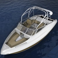 yamaha boats 3d model