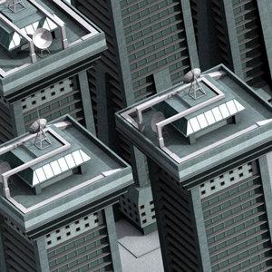 dwg buildings skyscraper