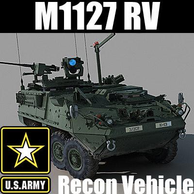 max army m1127 reconnaissance vehicle