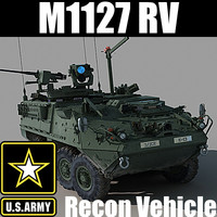 max army m1127 reconnaissance vehicle
