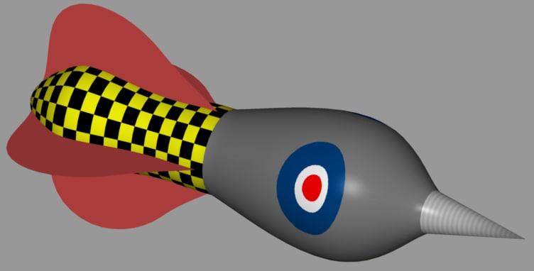 3d model novelty dart