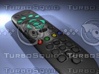 3d sky digital television remote model