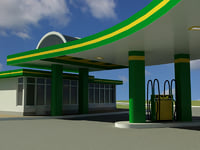 Gas station V1