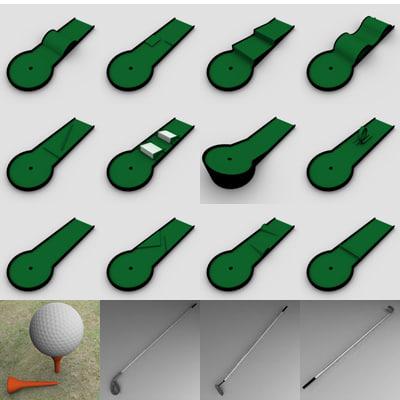 golf minigolf stations 3ds
