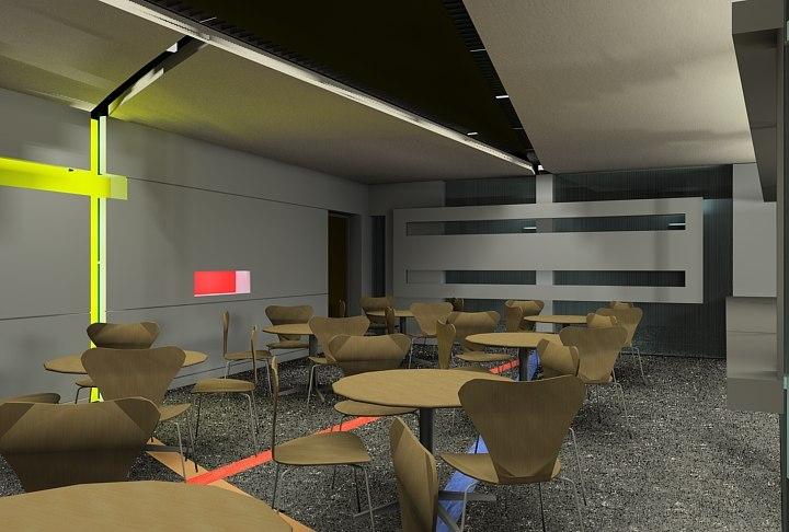 max interior office building