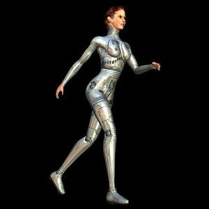 3d theme girl pzspc model