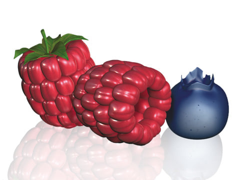 cinema4d raspberry bluebarry