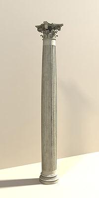 column composite 3d max