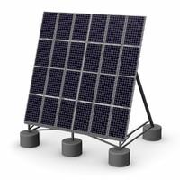 3d dxf solar panel