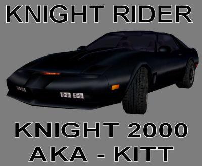 polys car kitt firebird trans 3d model