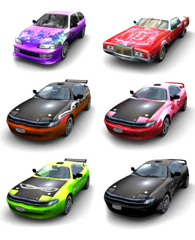 3d tuned cars