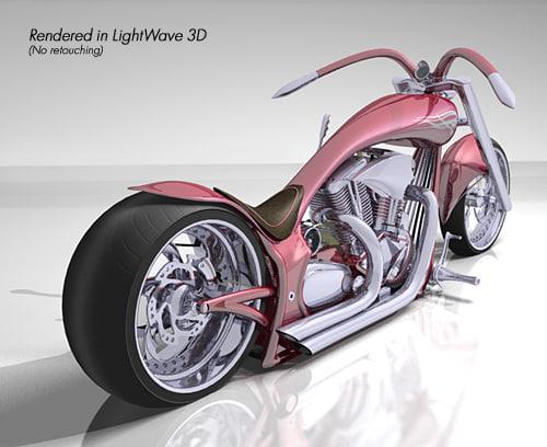 3d 3ds wraith chopper