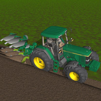 tractor agrimotor 3d lwo