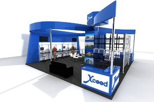 exhibition booth max