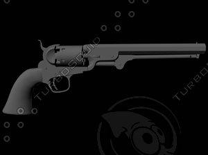 3d gun colt 1851 navy model