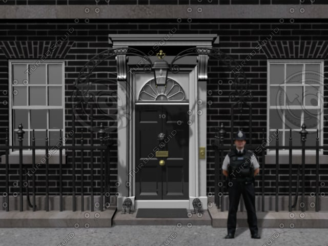 prime 10 downing street 3d model
