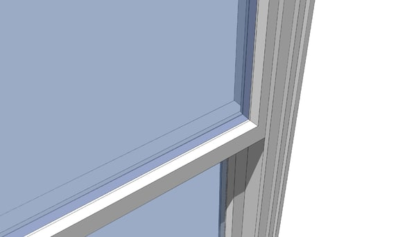 free 3ds model architect double hung window